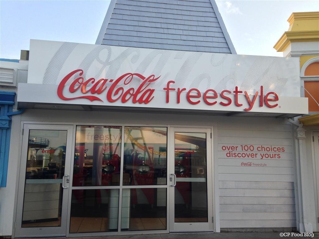 140508 Cedar Point Coca-Cola Freestyle Exterior GateKeeper