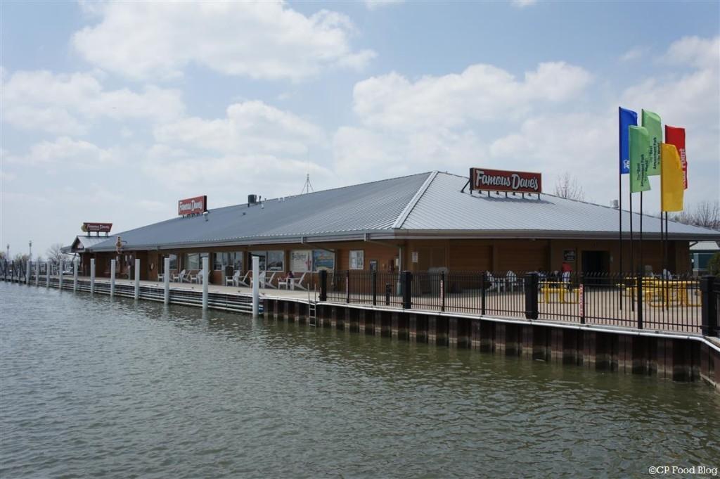 140508 Cedar Point Famous Dave's  Exterior
