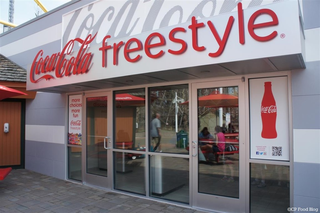 140508 Cedar Point Gemini Midway Coca-Cola Freestyle Exterior