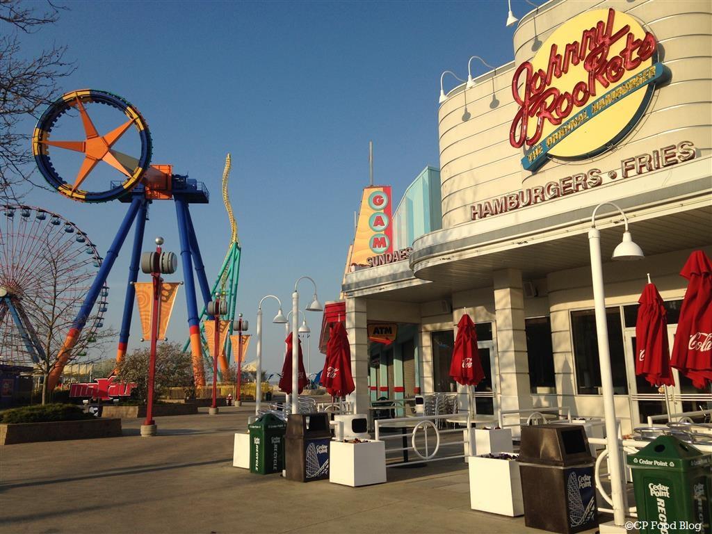 140508 Cedar Point Johnny Rockets Exterior