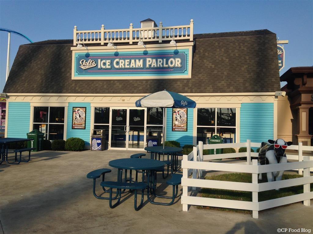 140508 Cedar Point Toft's Ice Cream