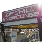 140508 Cedar Point Top Chill Snowcones Sign