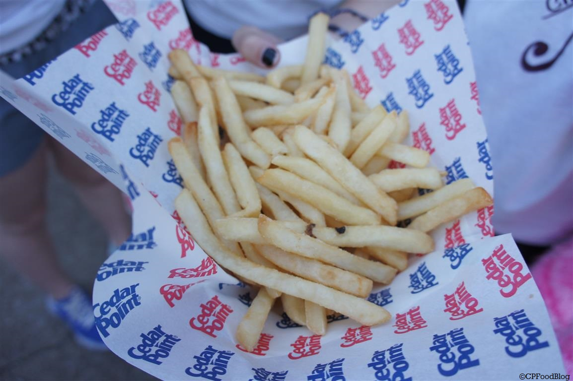 140524 Cedar Point Burger Patio Fries