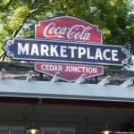 140524 Cedar Point Coca-Cola Marketplace Cedar Junction Sign