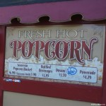 140524 Cedar Point Drinks and Popcorn Cart Sign