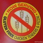 140524 Cedar Point Joe Cool Cafe Gluten Free Sign