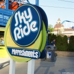 140524 Cedar Point Sky Ride Refreshments Sign