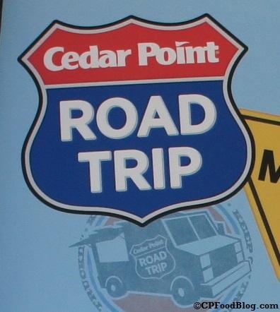 140628 Cedar Point Road Trip Food Truck Sign