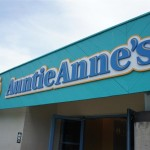 140718 Cedar Point Auntie Anne's Sign