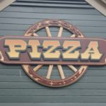 170504 Cedar Point Wagon Wheel Pizza Sign