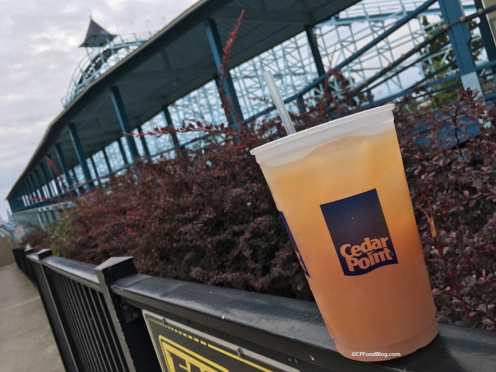 170829 Cedar Point Chickie's Pete's Blue Streak Cocktail