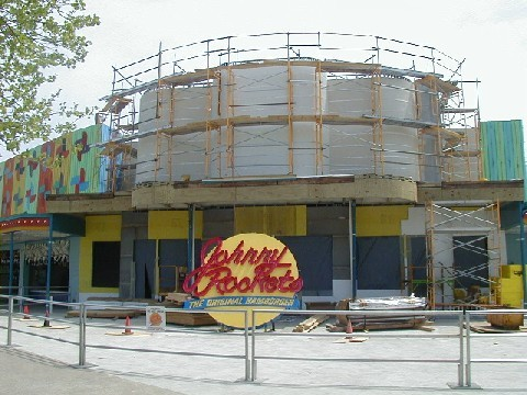 2001 Cedar Point Johnny Rockets Construction ©Andrew Hyde (@OnlineHyde)