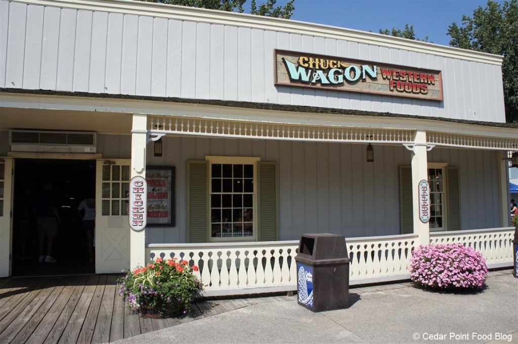 Chuck Wagon Western Foods Outside