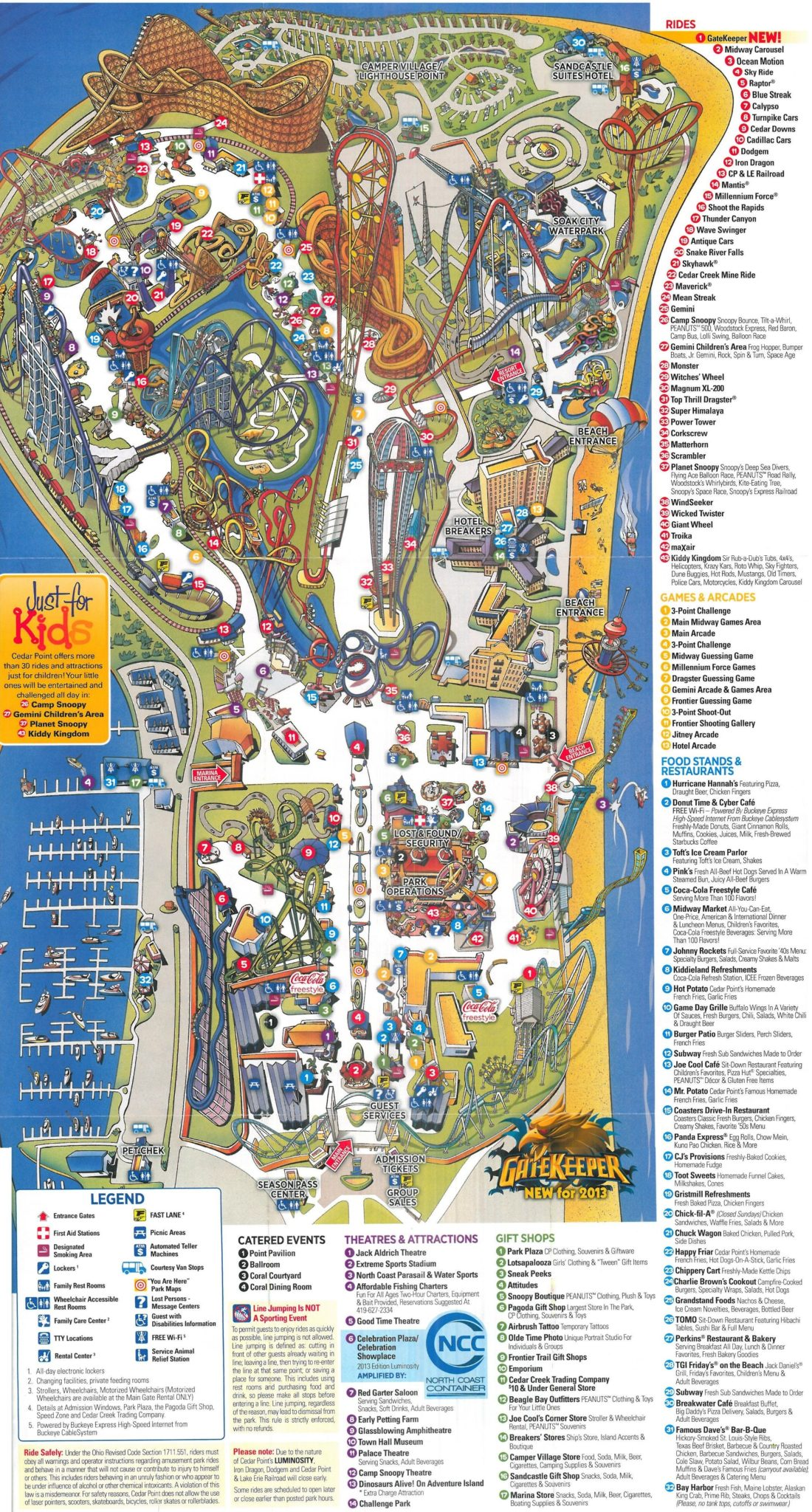 Cedar point ride map : Online fruit delivery on