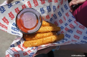 140628 Cedar Point Dragon's Inn Cheesestick Combo