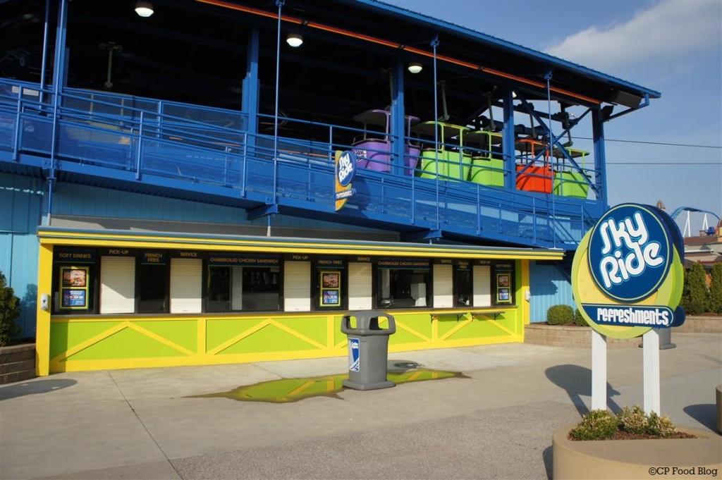 140508 Cedar Point Sky Ride Refreshments