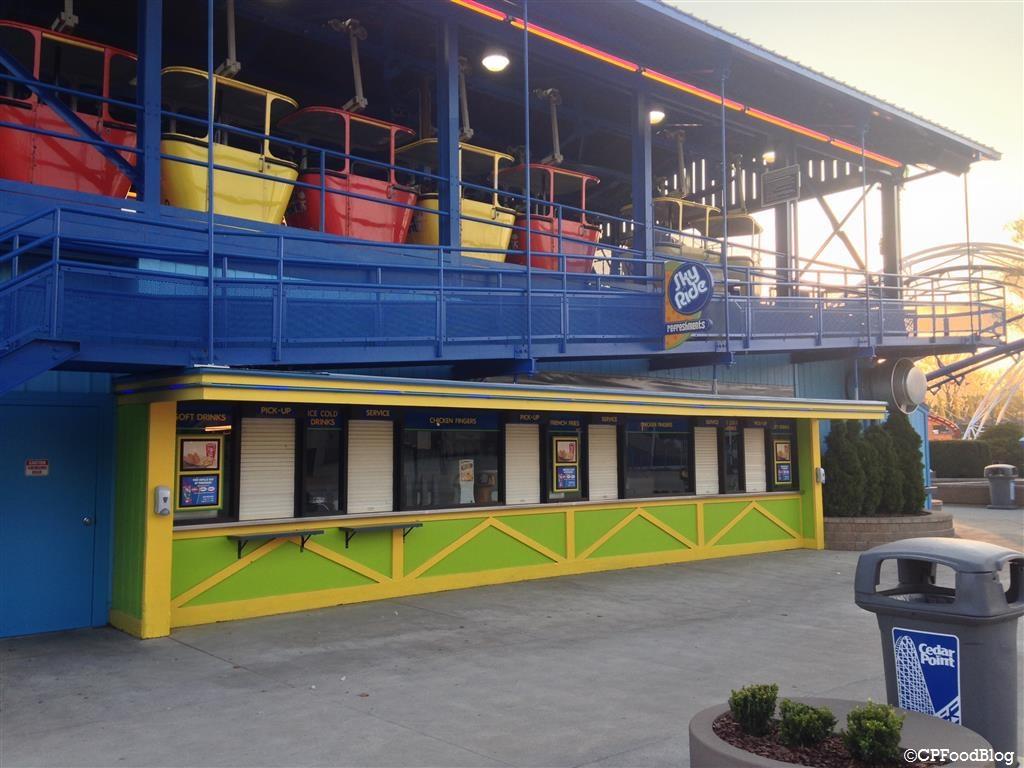 140508 Cedar Point Sky Ride Refreshments 2