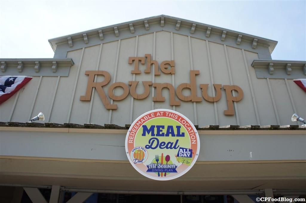 140628 Cedar Point Roundup Sign
