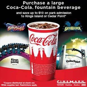 2014 Cedar Fair Cinemark Promotion