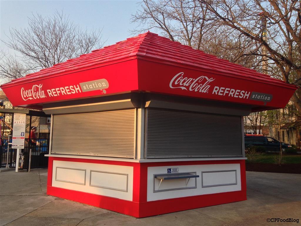 140508 Cedar Point Coca-Cola Refresh Station Midway