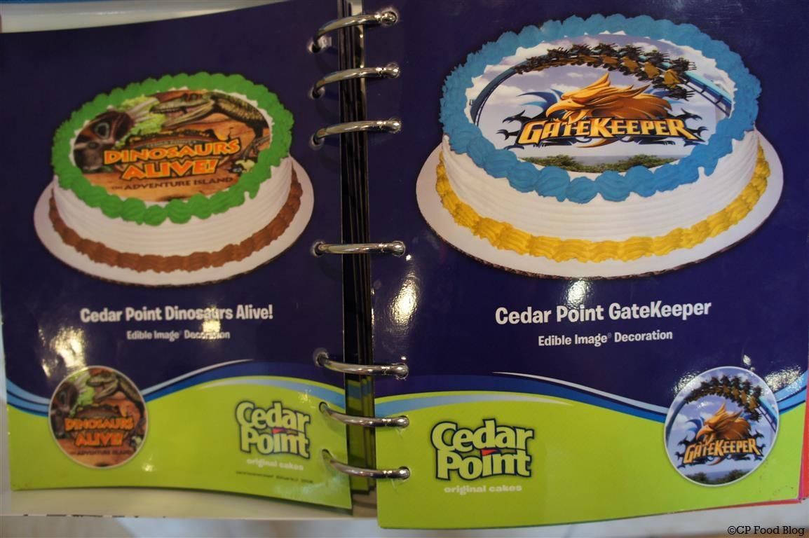 Cedar Point Dairy Queen Exclusive Licensed Cakes