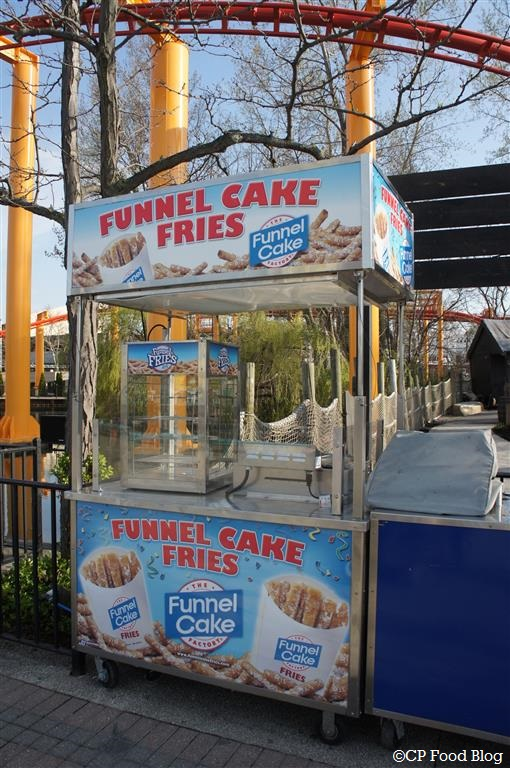 140508 Cedar Point Funnel Cake Fries Cart #1