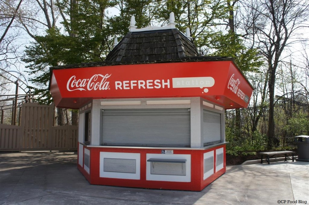 140508 Cedar Point Gemini Midway Coca-Cola Refresh Station