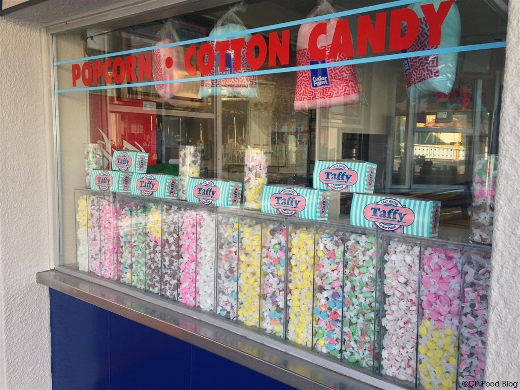 140508 Cedar Point Sweets 'n Treats Candy Shoppe Salt Water Taffy