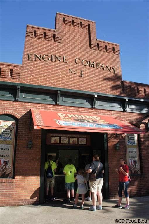 140524 Cedar Point Engine Company No. 3 Frozen Custard