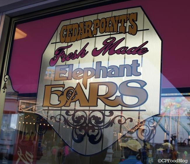 140525 Cedar Point Sweets 'n Treats Candy Shoppe Elephant Ear Sign