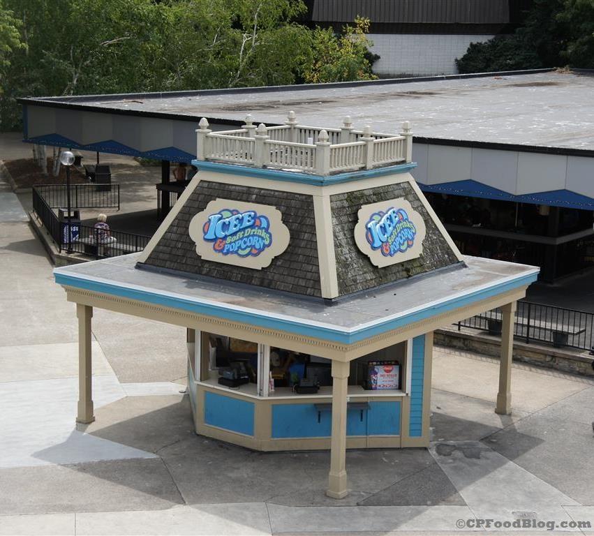 140718 Cedar Point ICEE, Soft Drinks, & Popcorn Stand
