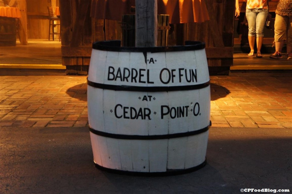 140718 Cedar Point Trail Tavern Barrel of Fun