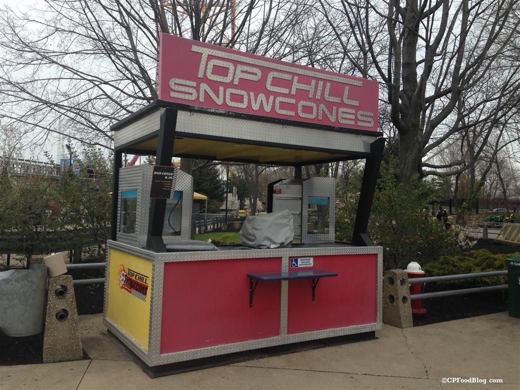 160430 Cedar Point Top Thrill SnowCones