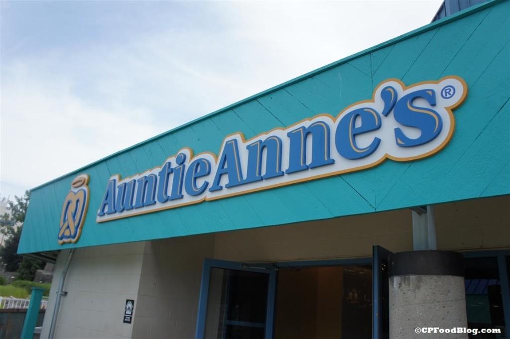 140718 Auntie Anne's Signage