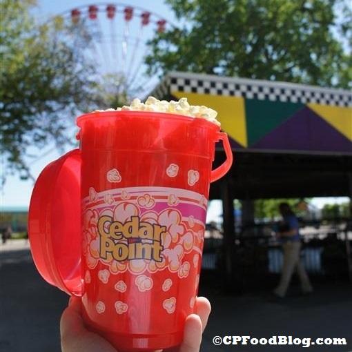 140524 Cedar Point Popcorn Bucket