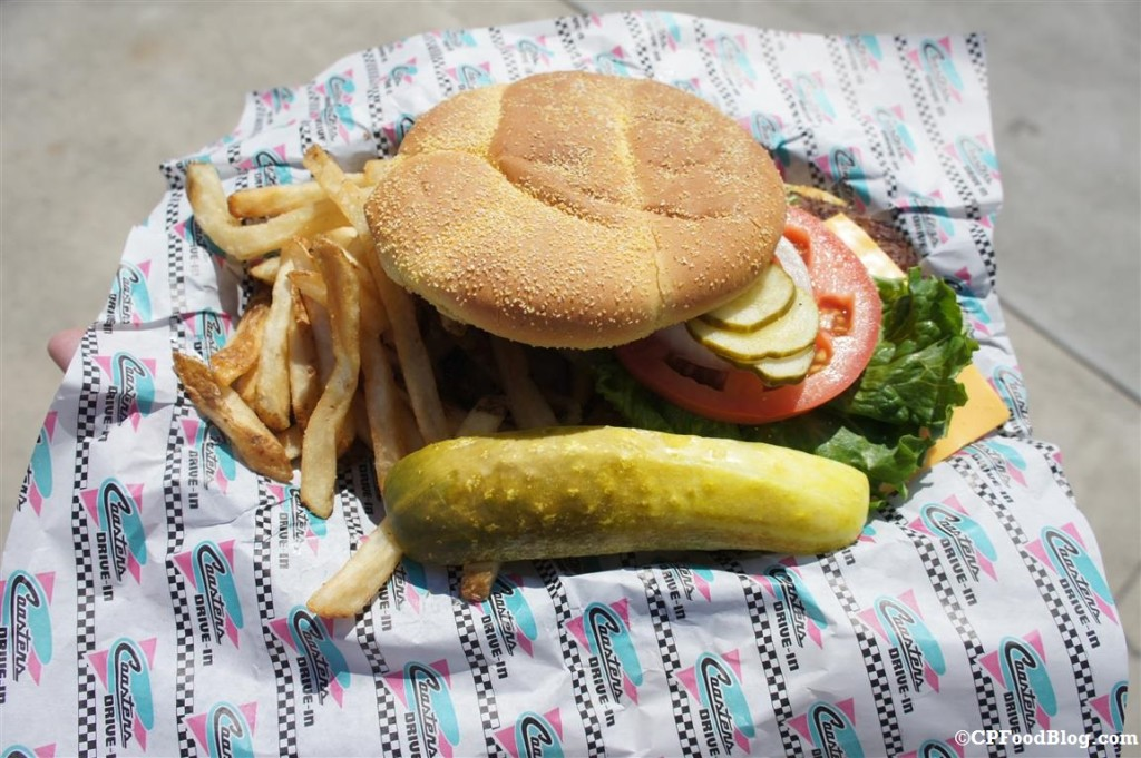 140525 Cedar Point Coaster's Drive-in Cheeseburger Combo (2)
