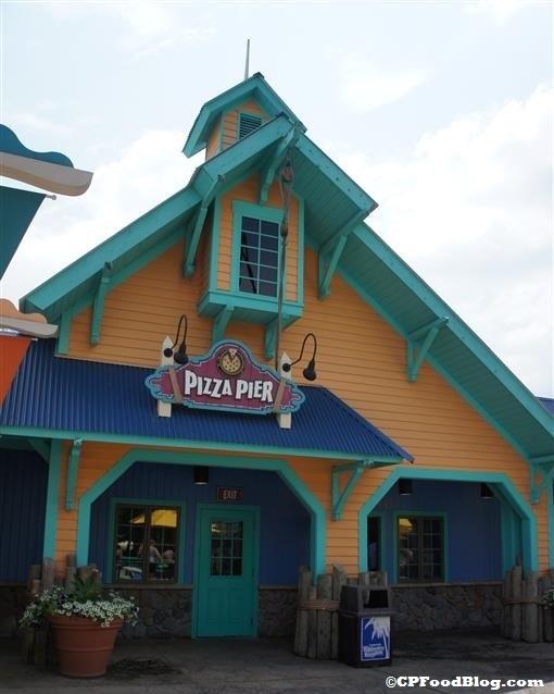 140803 Wildwater Kingdom Pizza Pier Exterior