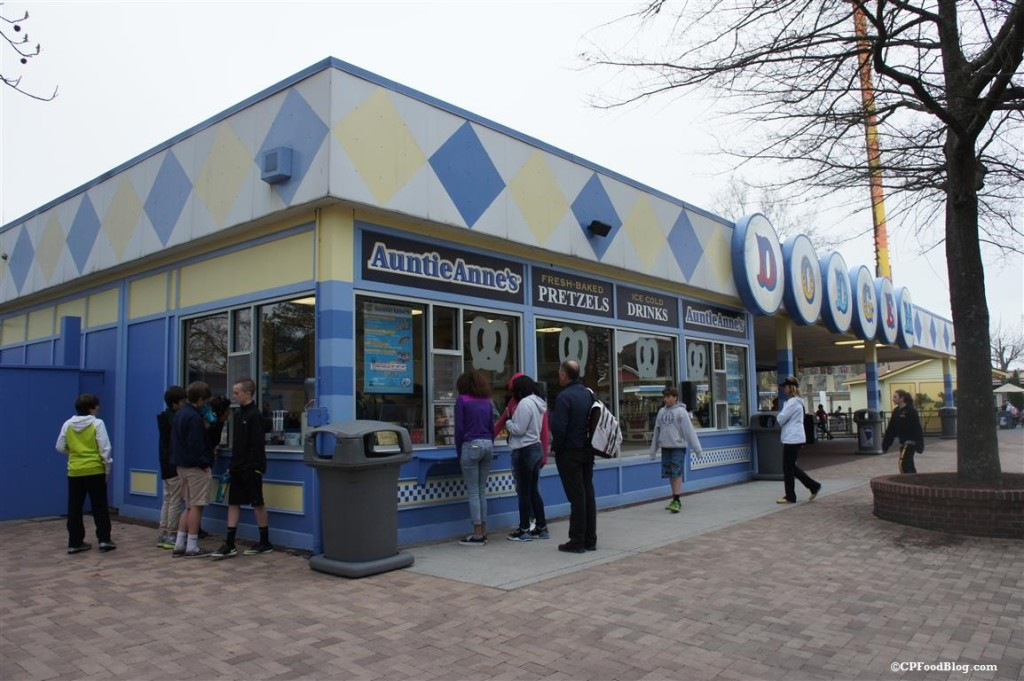 150411 Kings Dominion Auntie Anne's