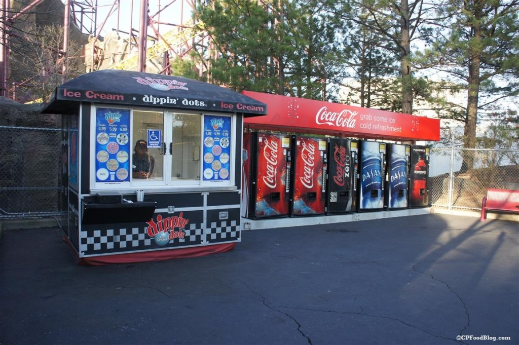 150411 Kings Dominion Intimidator Dippin Dots
