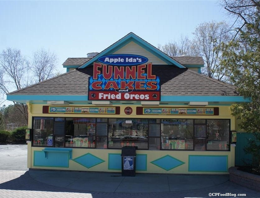 160408 Kings Dominion Apple Ida's Funnel Cakes