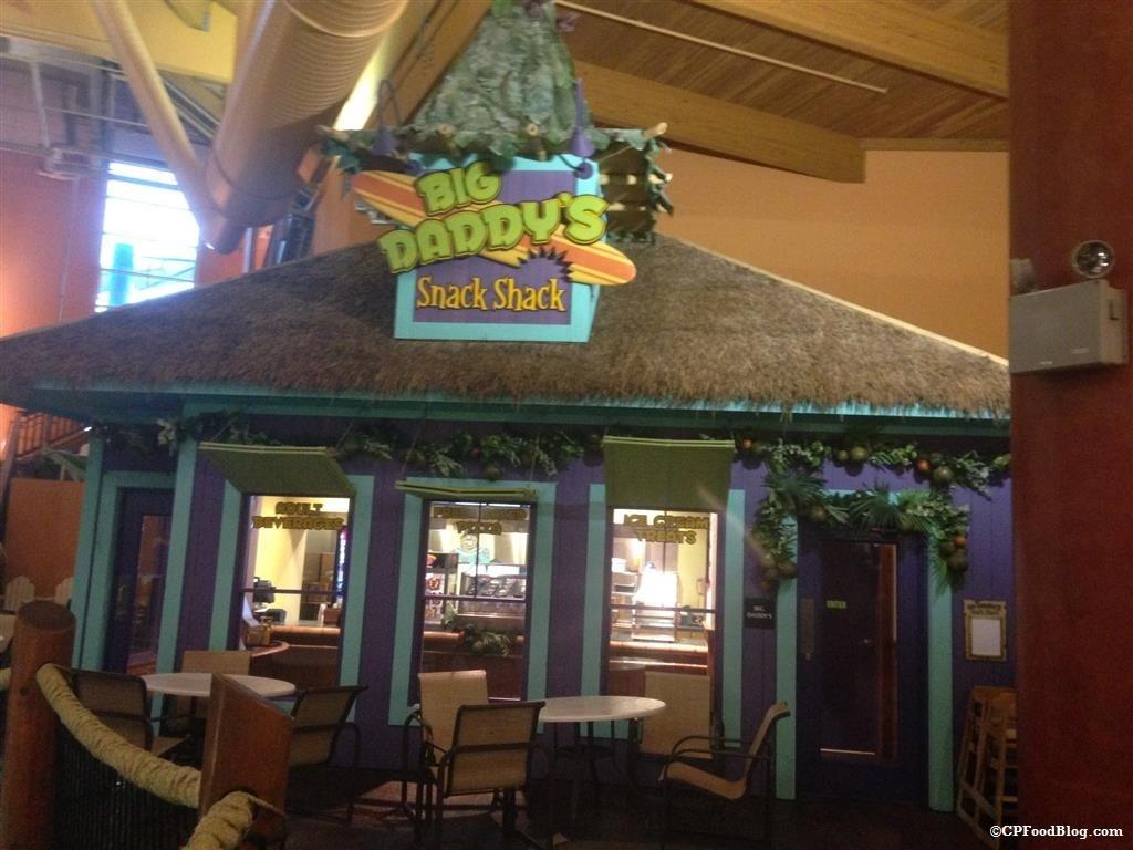 150130 Castaway Bay Big Daddy's Snack Shack Exterior