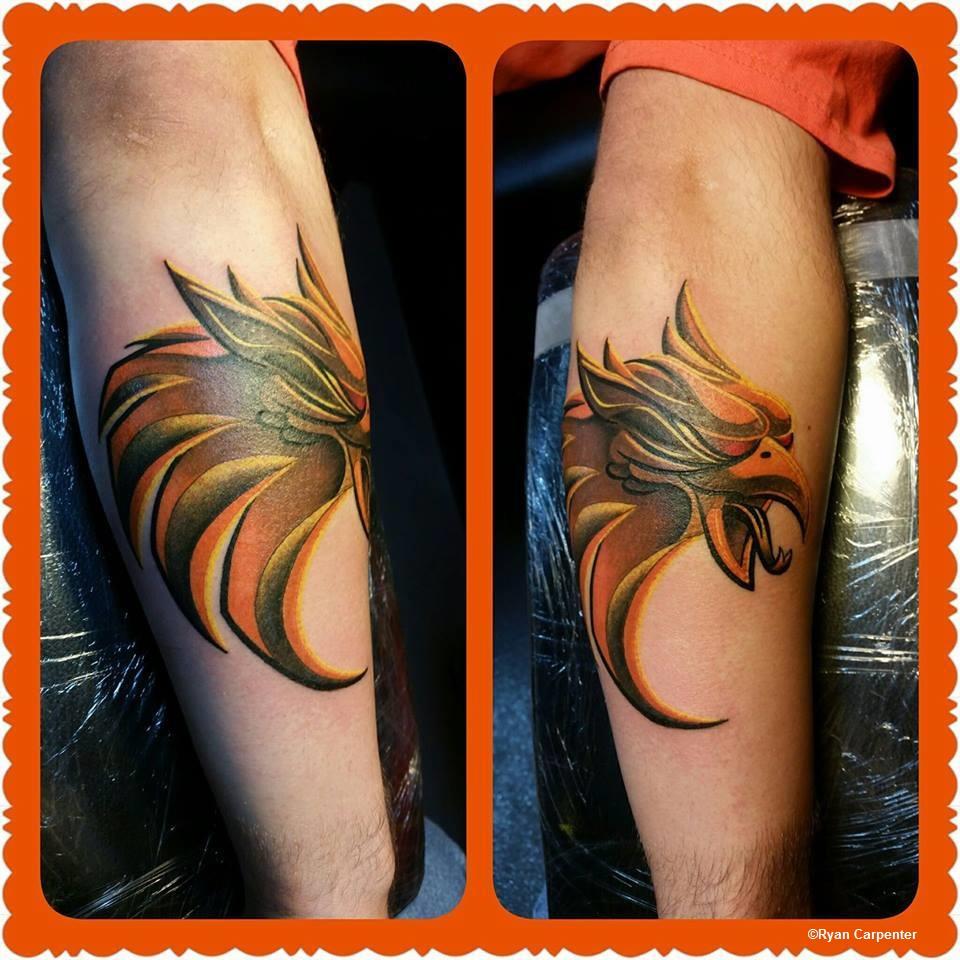 Cedar Point GateKeeper Tattoo ©Ryan Carpenter
