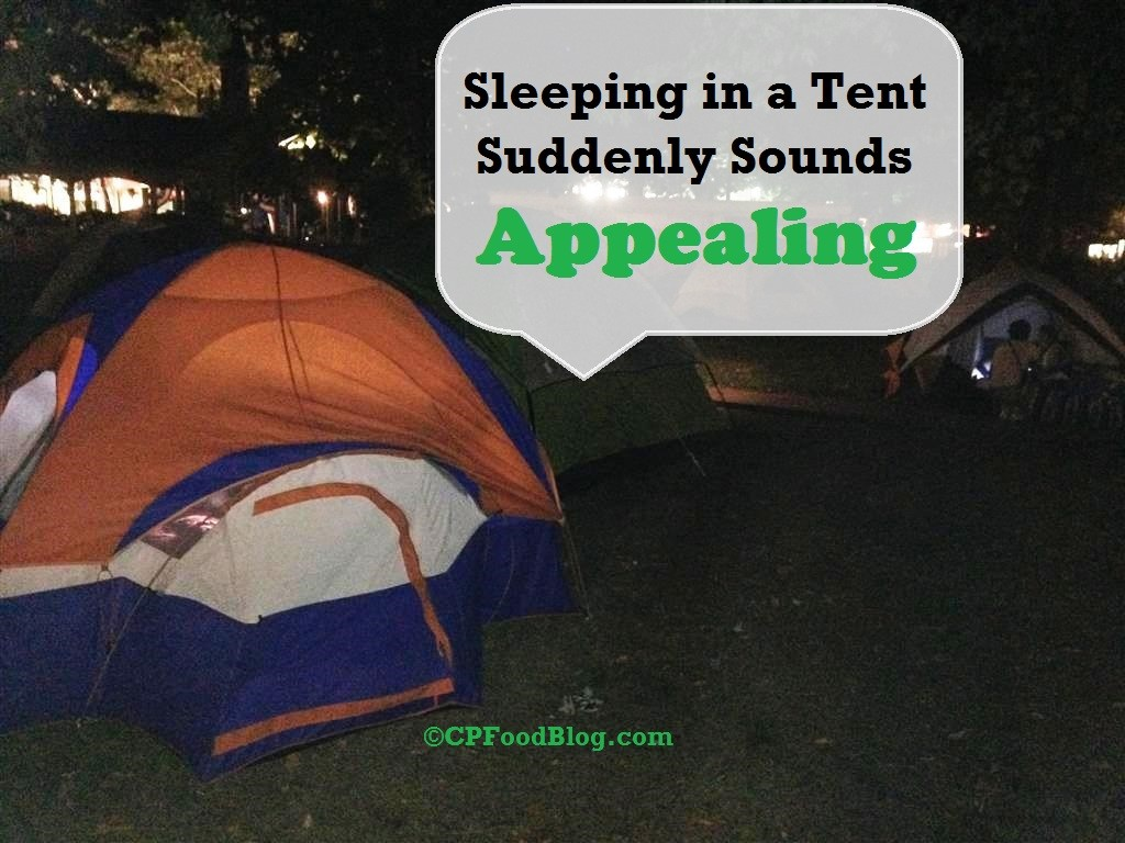 Sleeping in a Tent Suddenly Sounds Appealing