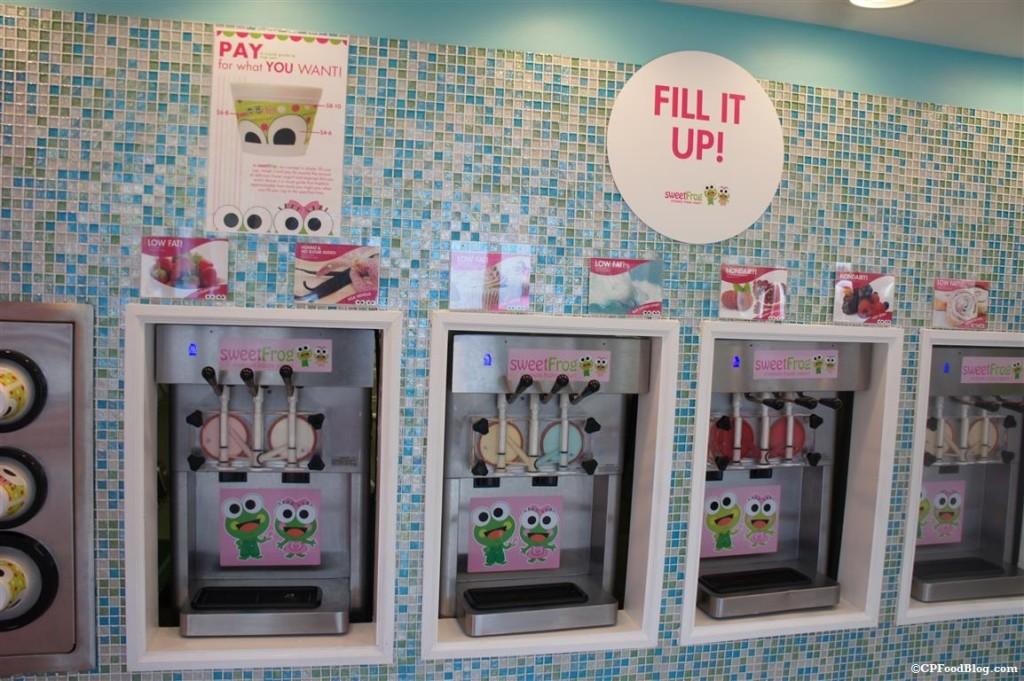 140408 Kings Dominion Sweet Frogs Yogurt Machines