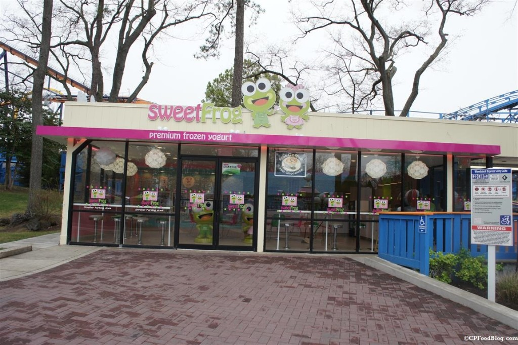 150408 Kings Dominion Sweet Frog