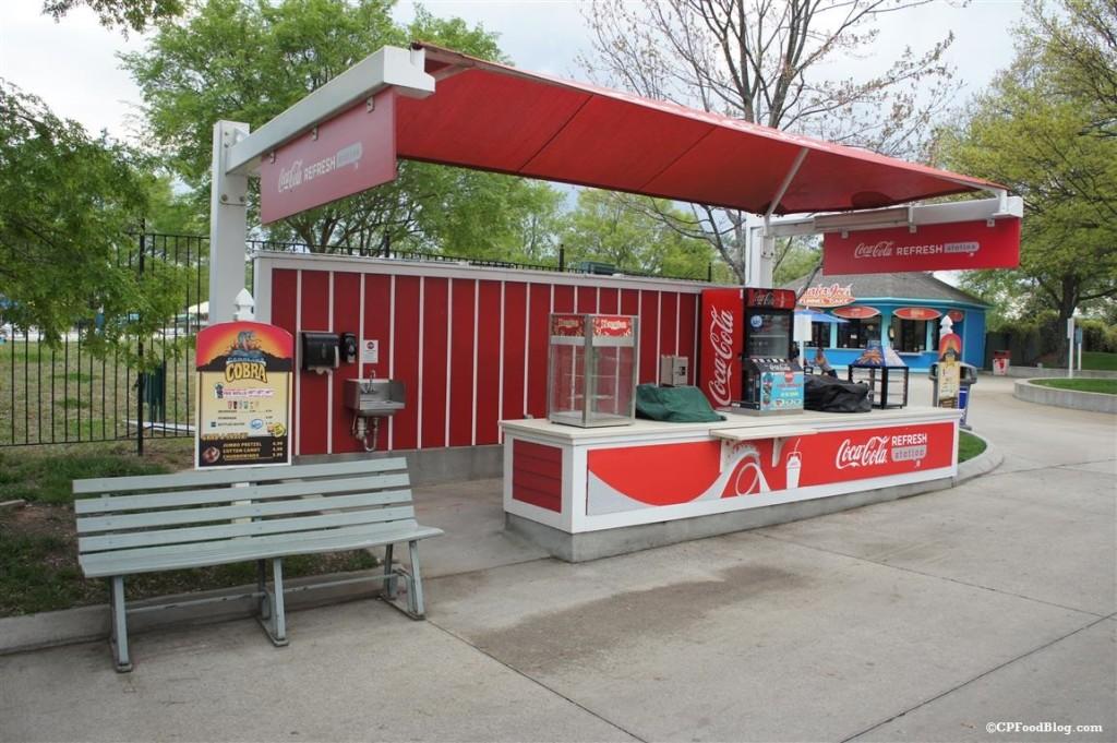150409 Carowinds Carolina Cobra Coca-Cola Refresh Station