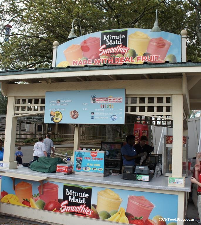 150409 Carowinds Minute Maid Smoothies