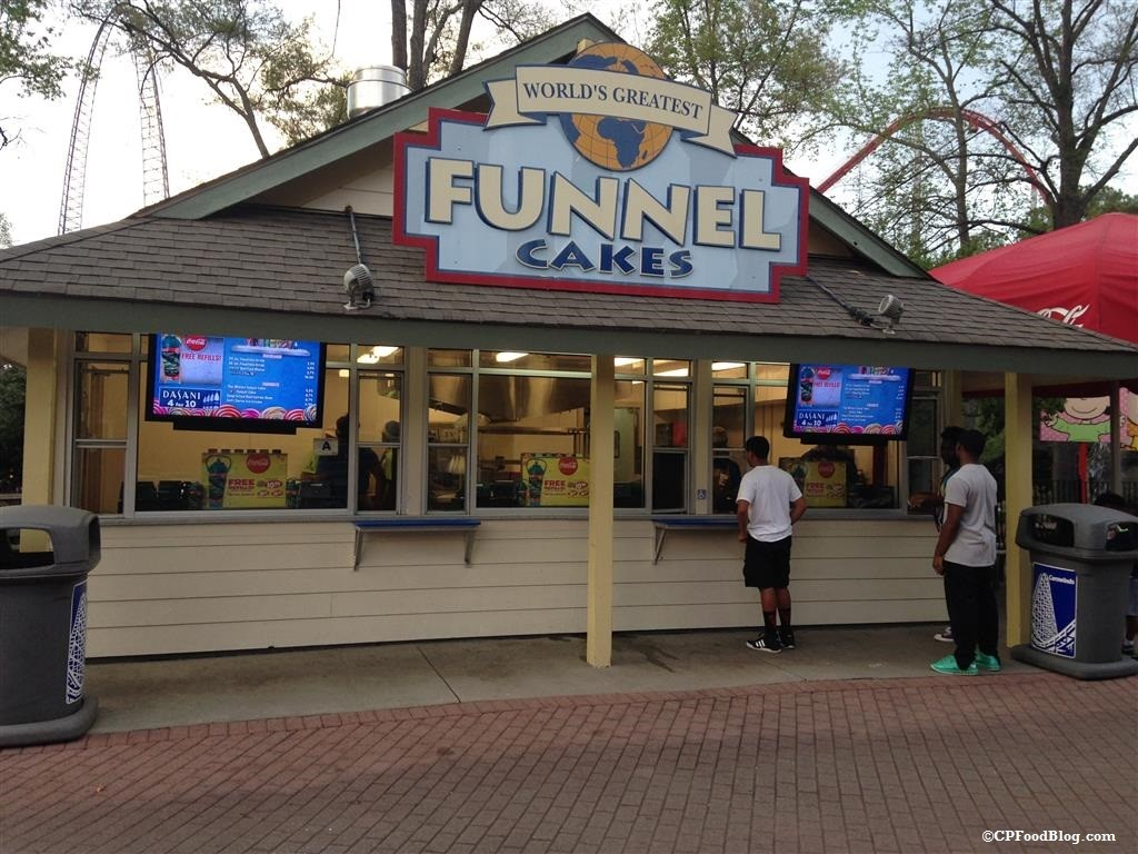 150409 Carowinds Worlds Greatest Funnel Cakes