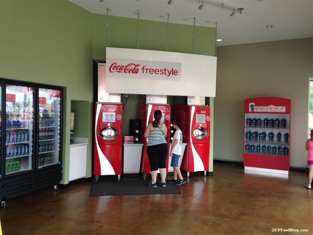 150410 Carowinds Coca-Cola Marketplace Interior