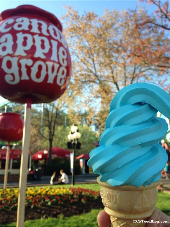 150411 Kings Dominion Sweet Tooth Blue Ice Cream